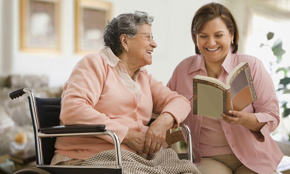 Cuidar ancianos a domicilio