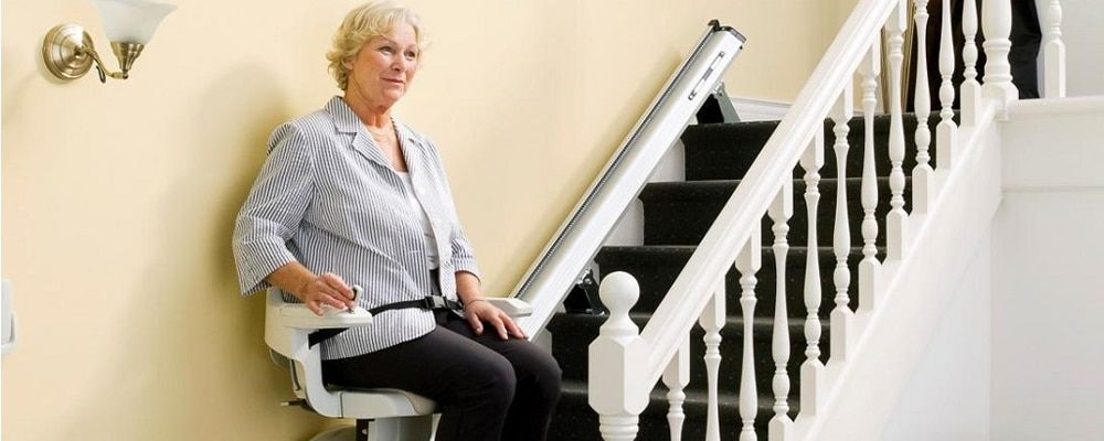 silla para subir escaleras