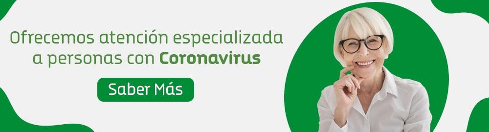 Atención especializada a personas con Coronavirus