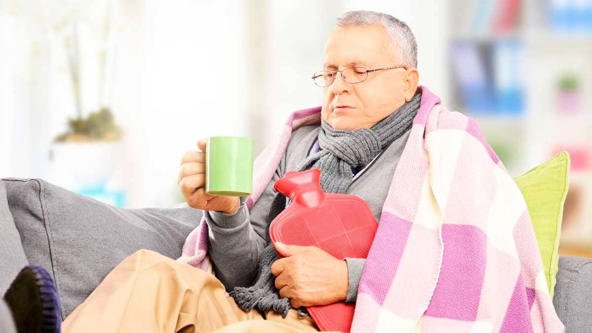 Sintomas de gripe y resfriado